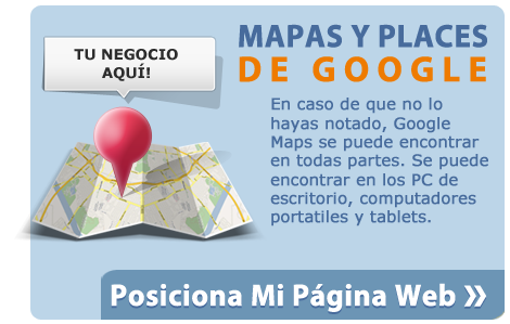Mapas y places de Google